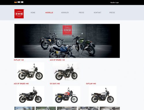 SWM-Motorrad Homepage